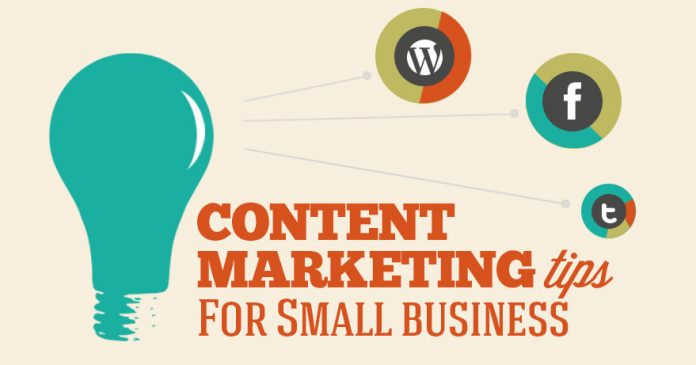 TIPS FOR SUCCESSFUL SMALL BUSINESS CONTENT MARKETING